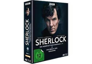 Sherlock - Die kompletten Staffeln 1-4 & Die Braut des Grauens (Blu-ray)