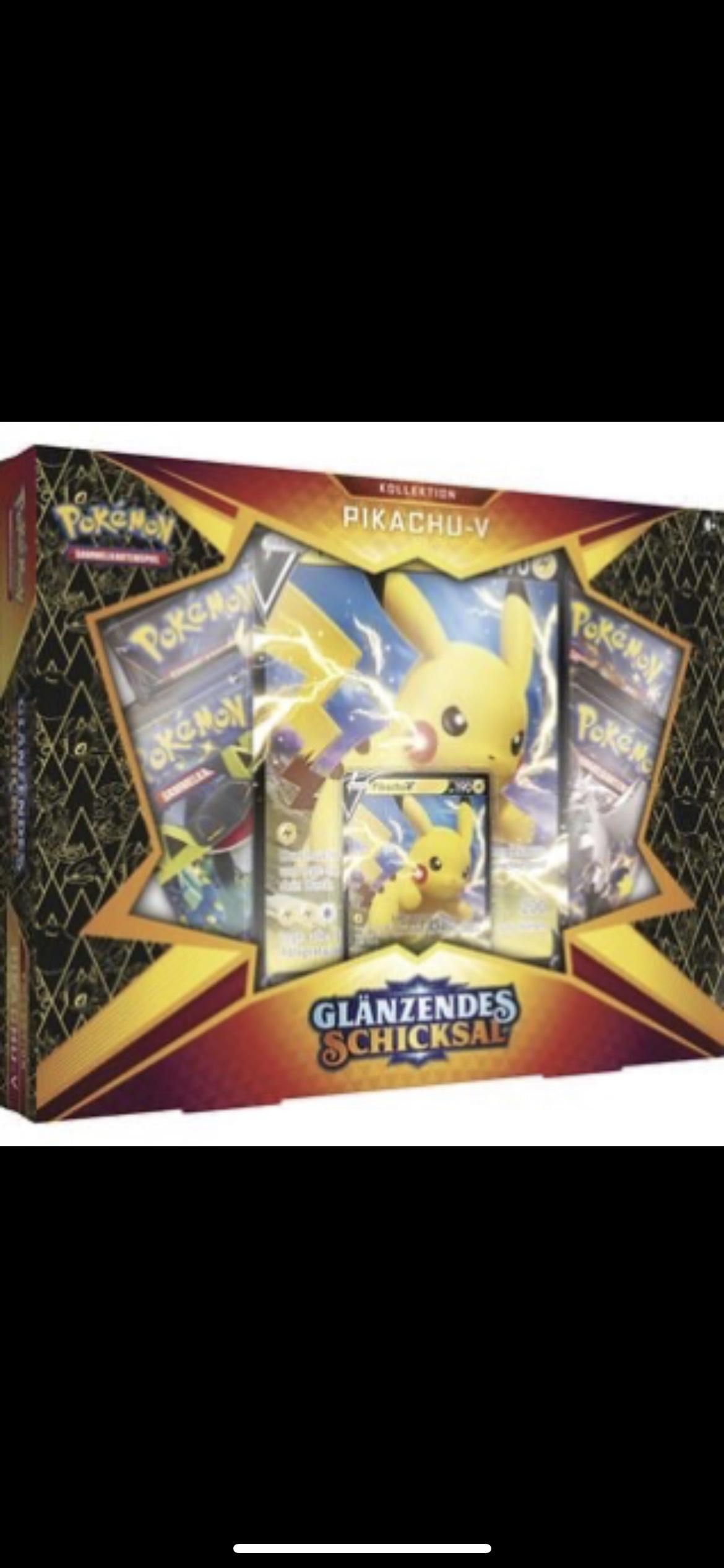 (Vorbestellung) Pokémon POK80869 TCG Shining Fates Pikachu V Box