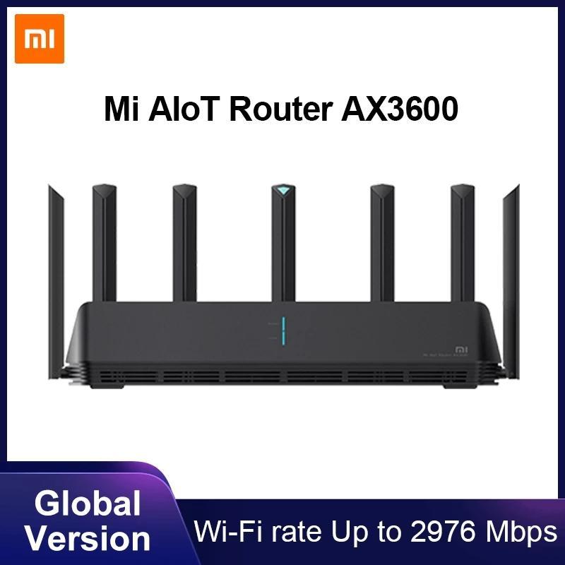 Xiaomi Mi AX3600 Router für 72€ (WiFi 6, 2976 Mbps, 7 Antennen, Mesh-Funktionalität)