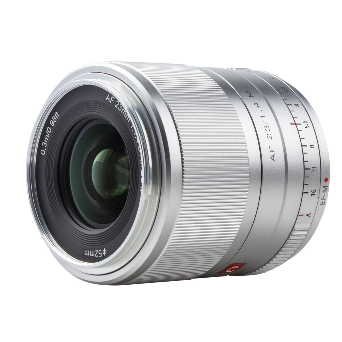Viltrox Objektiv EF-M 23 mm F/1.4 für Canon EF-M-Mount