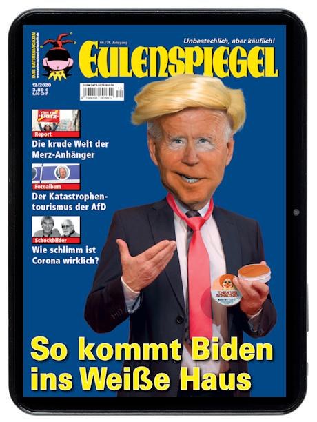 Aktuelle Eulenspiegel Online-Ausgabe kostenlos