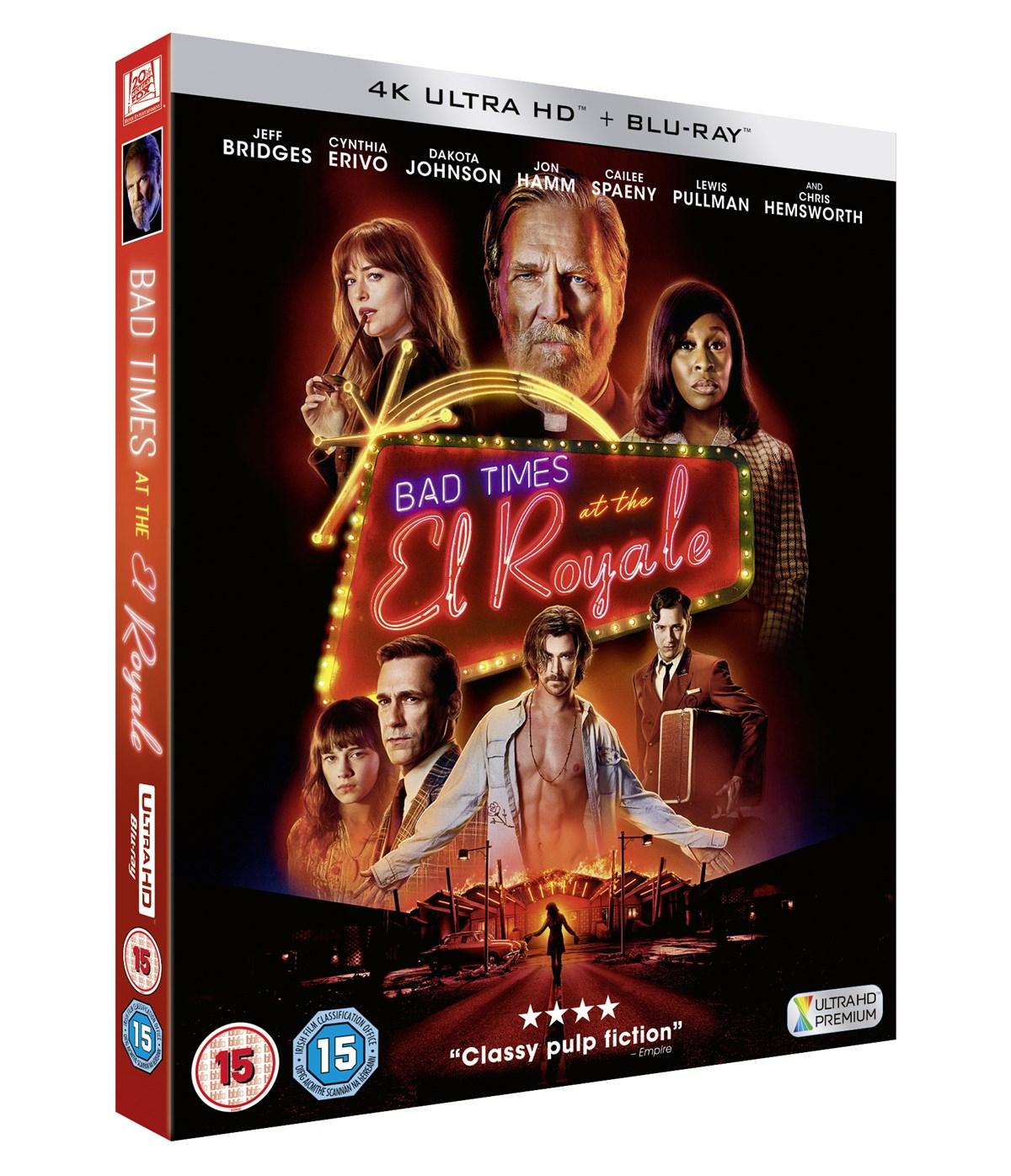 Bad Times at the El Royale (4K Blu-ray + Blu-ray) für 13,30€ inkl. Versand (Zoom & Amazon UK)