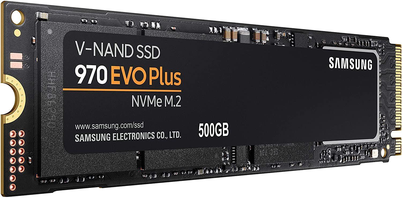 Samsung 970 EVO Plus 500GB interne SSD (NVMe M.2, 3D NAND TLC, 3.500 MB/s)