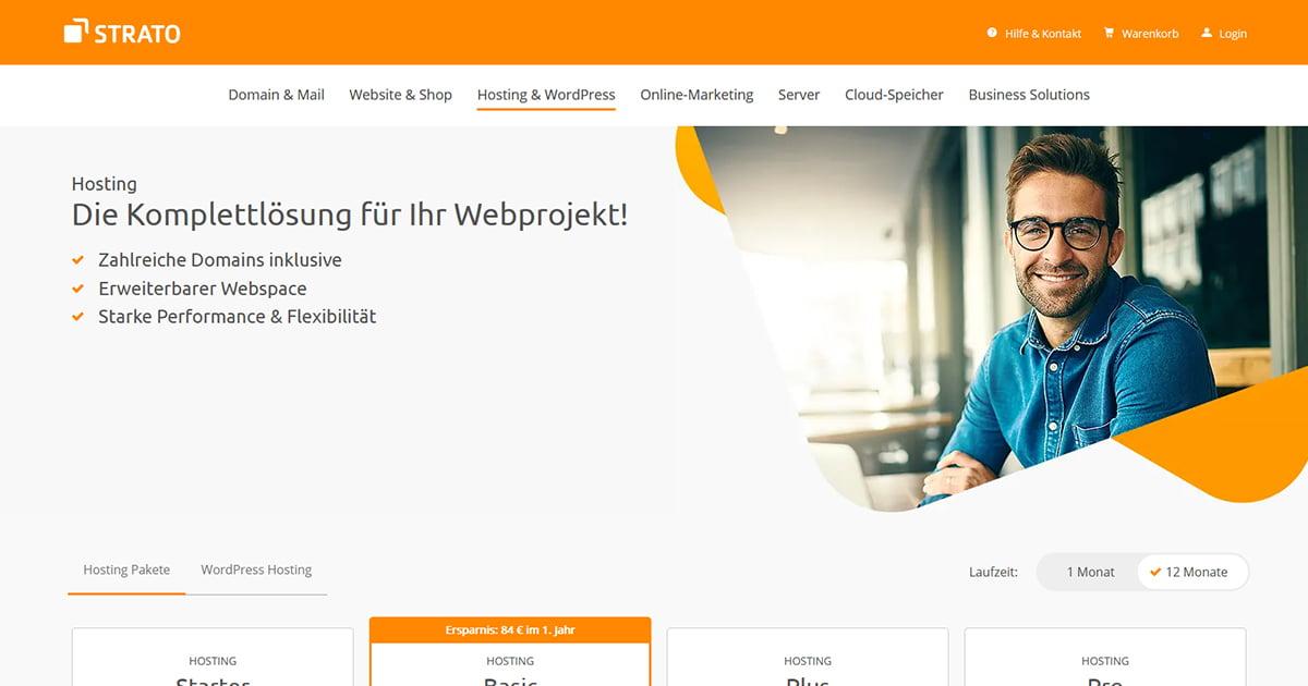 [STRATO] Sammeldeal Webangebote   erstes Jahr! (Bestandskunden)