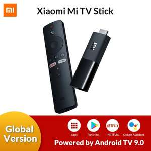 (Global Version und Versand aus Deutschland) Original Xiaomi Mi TV Stick Android TV 9.0 1080P(Full-HD) 8GB ROM Google Assistant Netflix