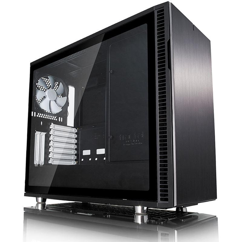 Damn Deals: Fractal Design Define R6 USB-C gedämmt mit TG Sichtfenster Midi Tower ohne Netzteil schwarz