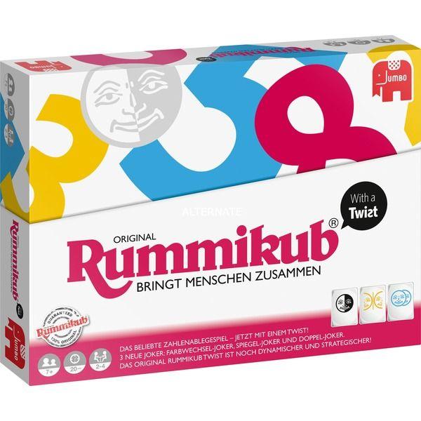 Sammeldeal z.B JumboRummikub with a Twist, Brettspiel uvm.. [Alternate]
