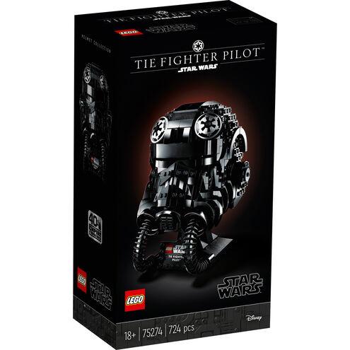 [Galeria]LEGO Star Wars - TIE Fighter Pilot Helm (75274)