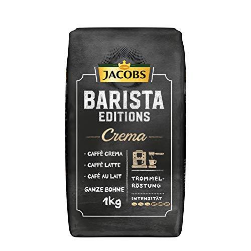[Amazon Prime] Jacobs Kaffeebohnen 1Kg Barista Editions Crema Bohnen Kaffee