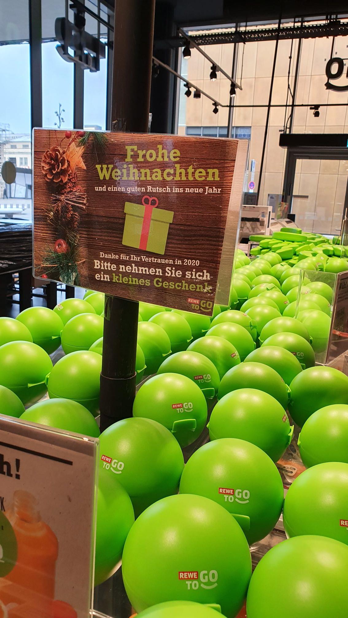 Freebie - Kostenlose Boxen / Brotdosen bei Rewe to Go
