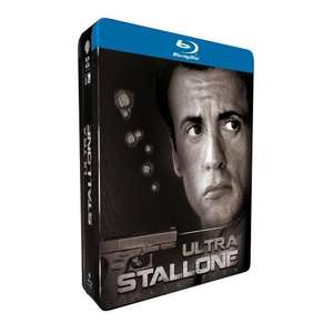 Ultra Stallone Collection (FR) Steelbook Blu-ray inkl. VSK für 24,90 € @ amazon.fr