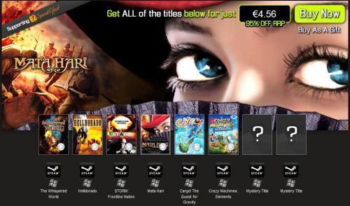 Bundle Stars (8 Steam Games)