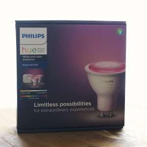 PHILIPS Hue White & Color Ambiance GU10 3-er Pack + Bridge