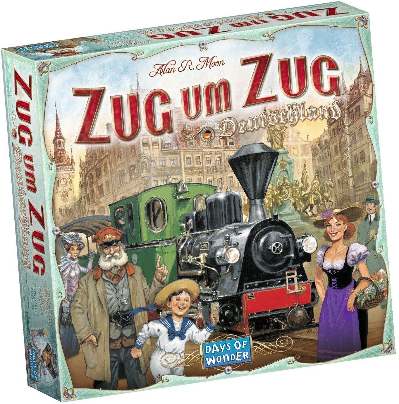 Zug um Zug Deutschland für 24,29€ +++ Erweiterung Europa 1912 für 11,15€ [Thalia KultClub]
