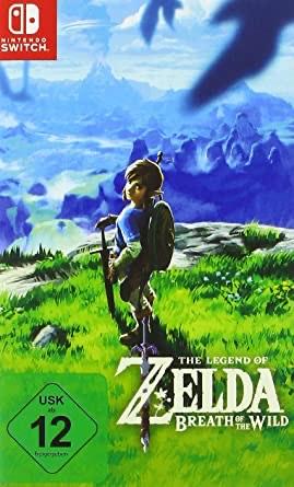 Switch Zelda Breath of the Wild Nintendo DE