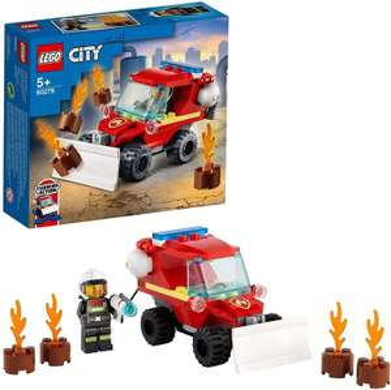 [Amazon Prime] LEGO 60279 City Mini-Löschfahrzeug, Feuerwehrauto mit Feuerwehrmann [6,38 € Thalia KultClub-Mitglieder]