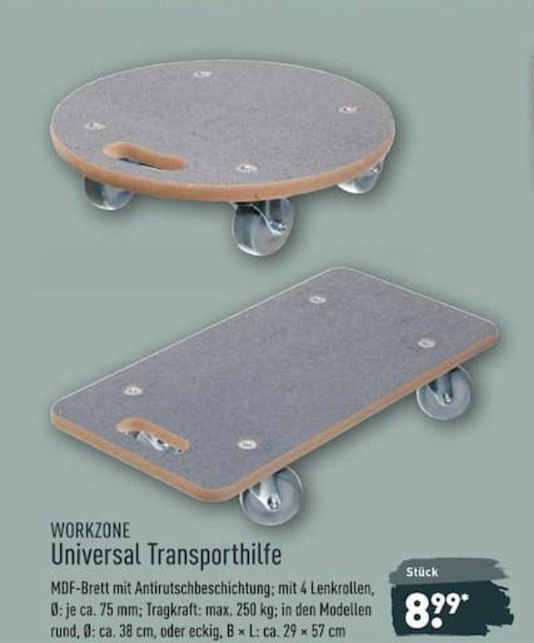 Workzone Universal Transporthilfe bei Aldi Nord