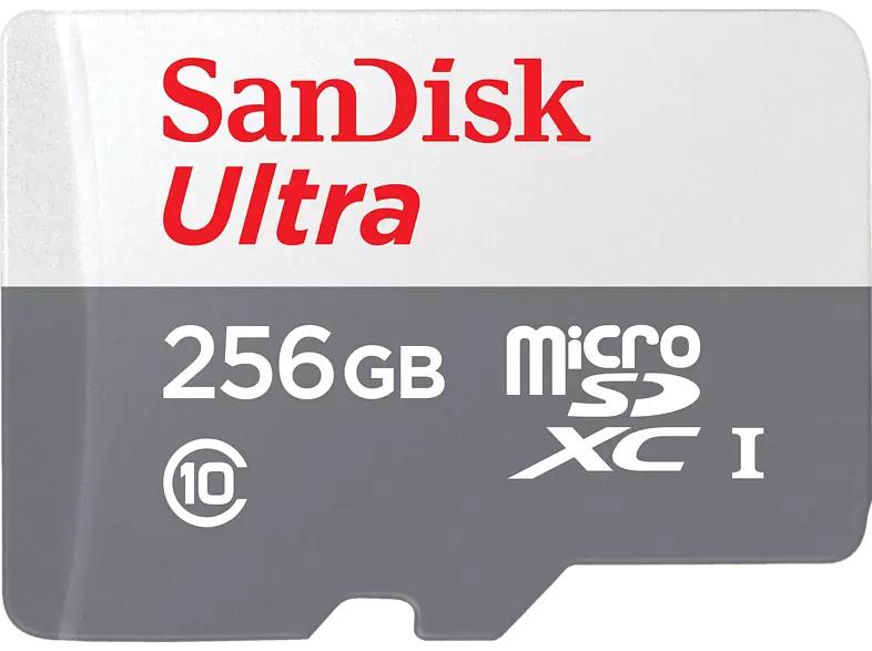 SANDISK Ultra microSD 256GB UHS-I Speicherkarte  100 MB/s [SATURN]