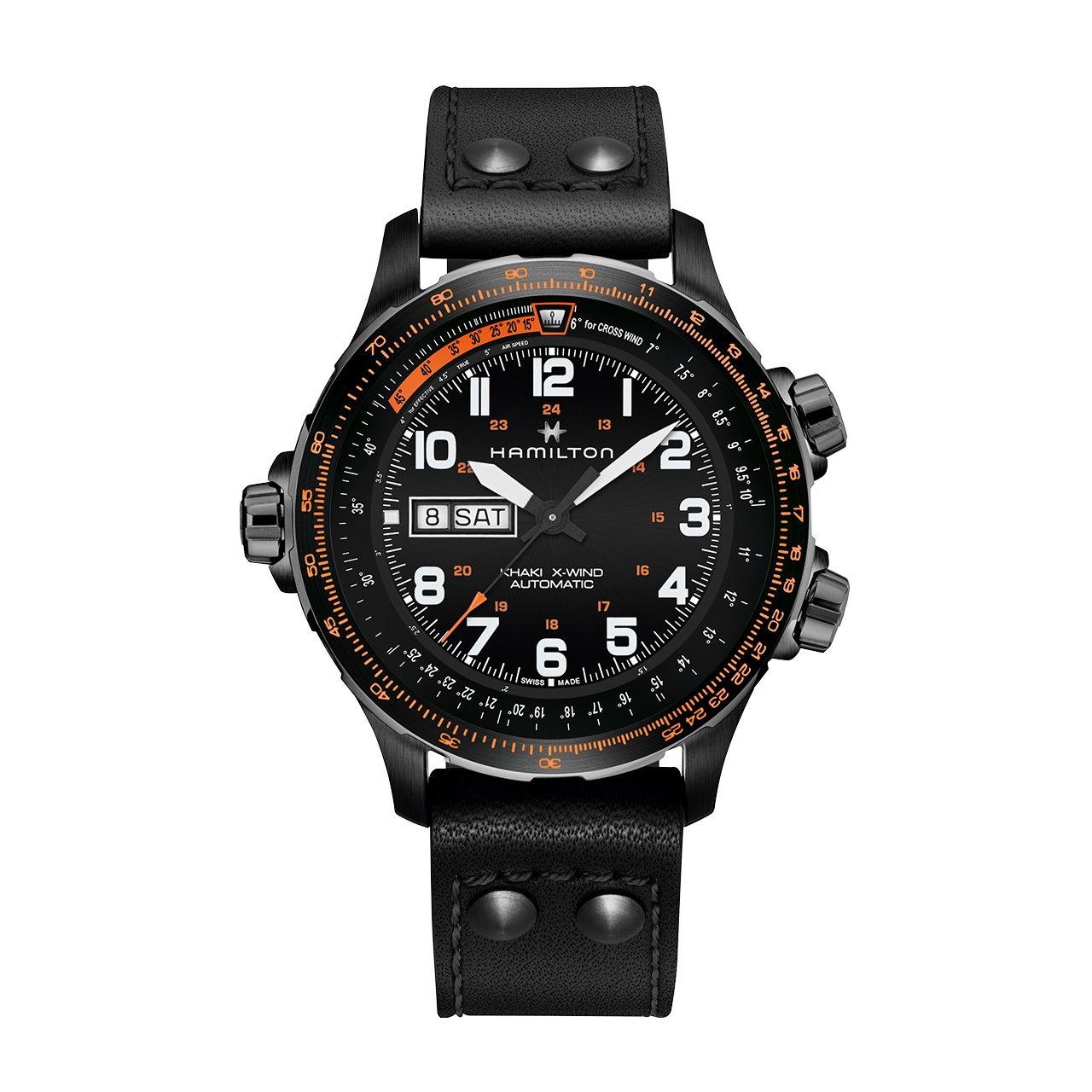 Hamilton Khaki Aviation X-Wind Day Date Automatikuhr H77785733