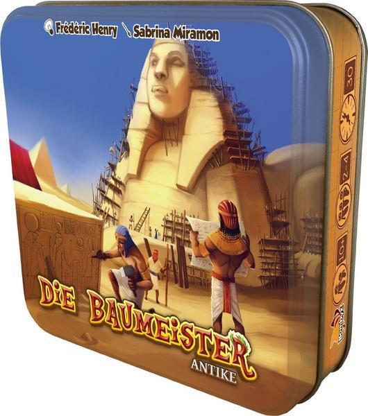 Die Baumeister - Antike Gesellschaftsspiel