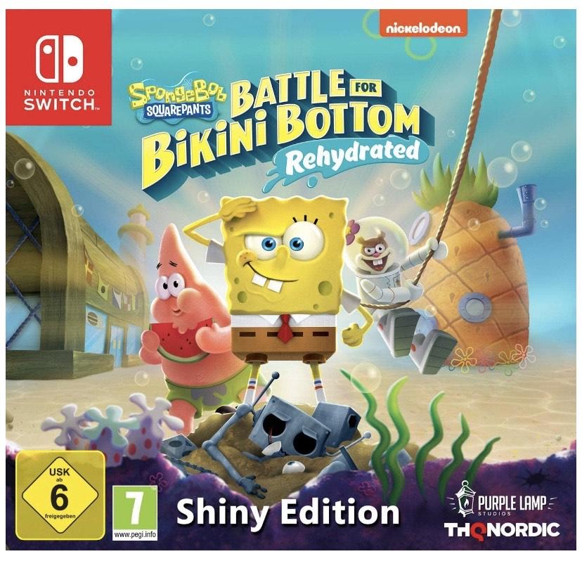 [Amazon Prime] Spongebob SquarePants: Battle for Bikini Bottom - Rehydrated - Shiny Edition [Nintendo Switch]