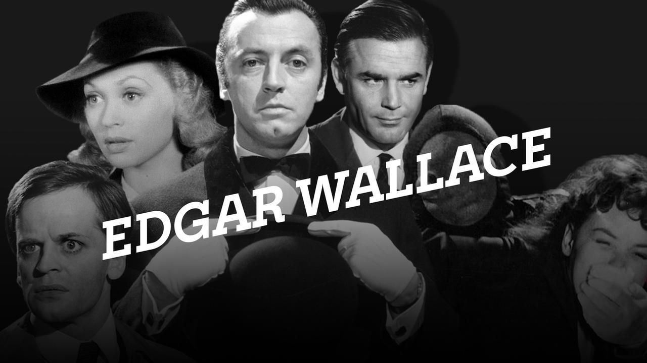 4 Edgar Wallace Filme (zB Der grüne Bogenschütze) Joachim Fuchsberger, Gert Fröbe, Klaus Kinski und Ingrid van Bergen in ZDF neo im Stream