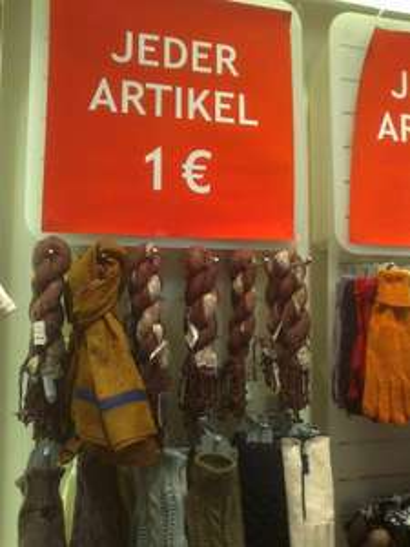[Lokal Köln] Alles für 1€ bei Six in Köln