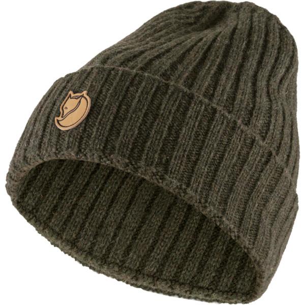 (Globetrotter) Fjällräven Re-Wool Hat Deep Forest Strickmütze