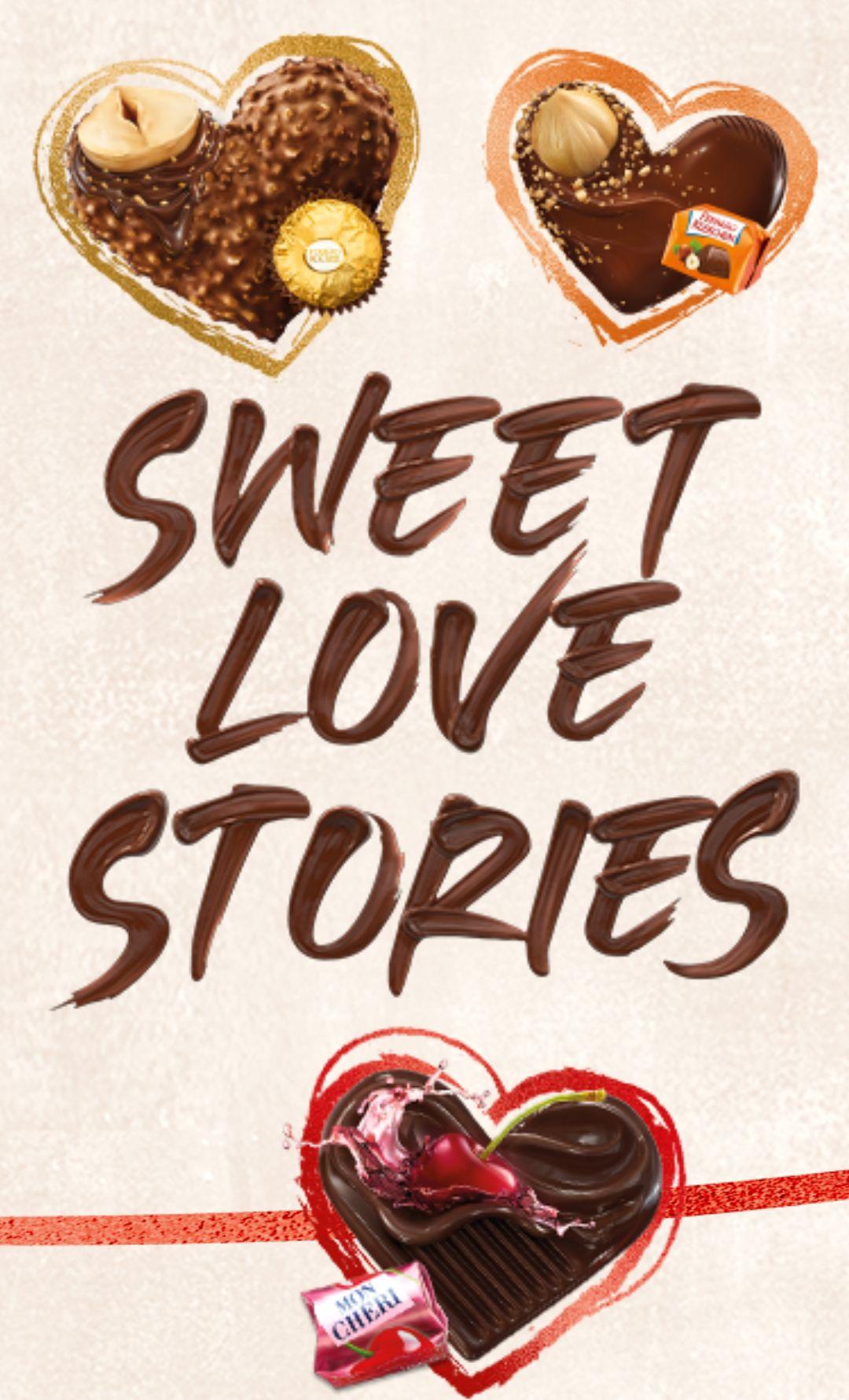 [Ferrero] sweet love stories / 2 Ferrero Produkte kaufen und Prämie im Markendesign sichern