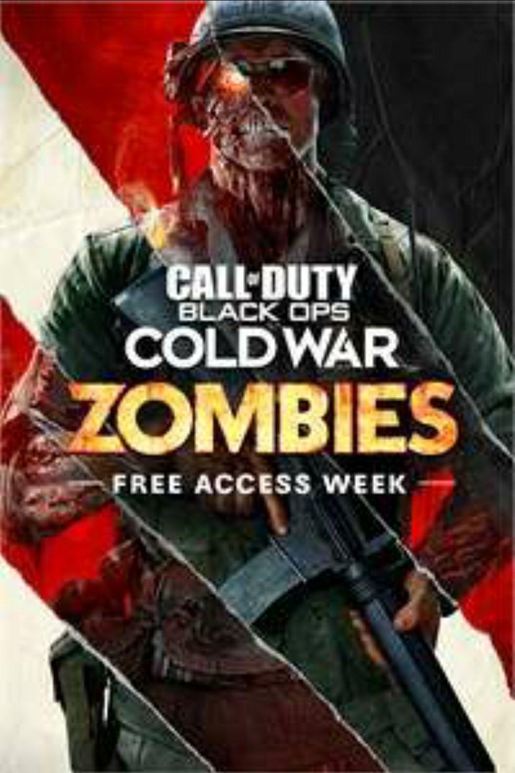 [14/01 bis 21/01] Black Ops Cold War - Zombie Kostenloser Zugang (Xbox)