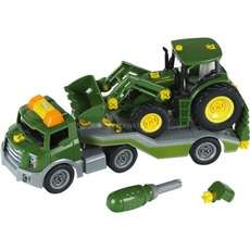 "Theo Klein Transporter mit John Deere-Traktor ""3908"" (Maßstab 1:24) [ALTERNATE]"
