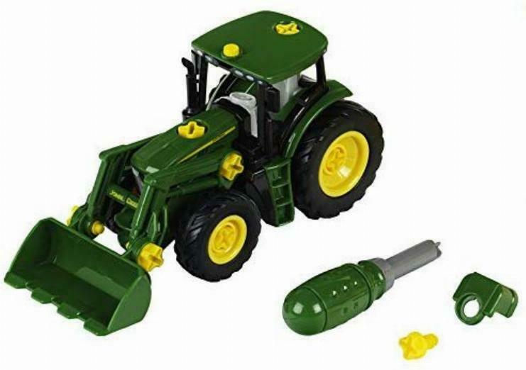 [Alternate] Theo Klein John Deere-Traktor mit Frontlader und Gewicht