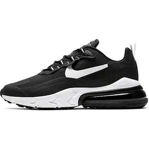 Herren Nike Air Max 270 react in schwarz weiß