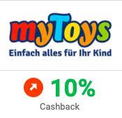 MYTOYS + iGraal - 10% Cashback -> mit 10% Rabatt-Code kombinierbar - auch tolle Lego Deals möglich!