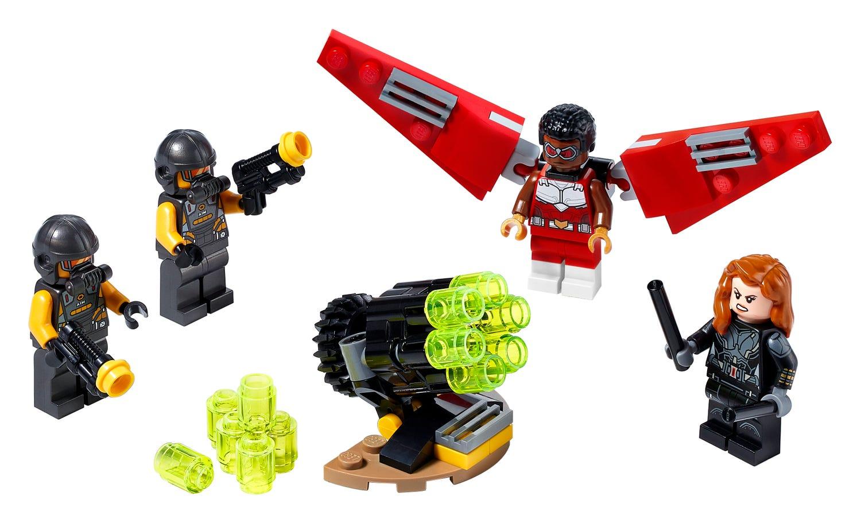 LEGO Marvel - Falcon und Black Widow machen gemeinsame Sache (40418)