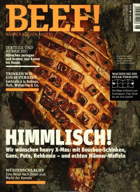 BEEF Magazin Abo (6 Ausgaben) durch Rabatt für 38,40 €