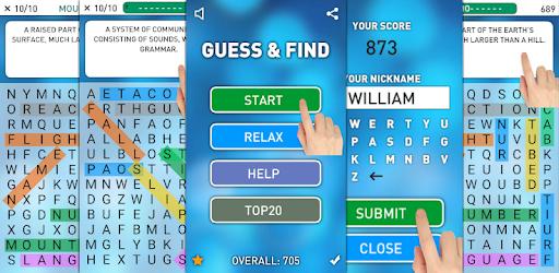 [Google Play Store] Spielend Englisch lernen: Guess & Find PRO + Spelling Test & Practice PRO für lau