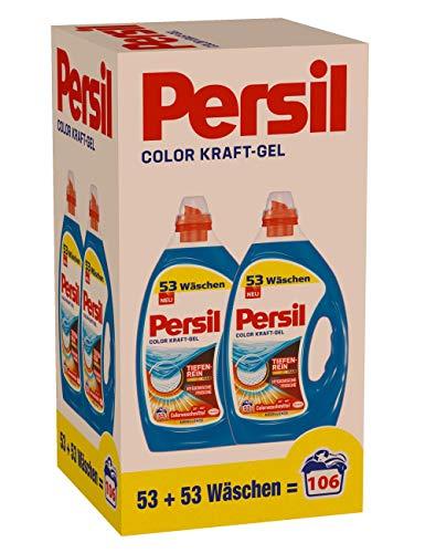(Prime, Sparabo, Gutschein) Persil Color Gel oder Sensitive Gel : 106 (2 x 53) Waschladungen, (ca. 12 ct/WL)