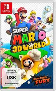 Amazon Vorbestellung Super Mario 3D World + Bowser's Fury Switch für 51,90€ inkl. Versandkosten