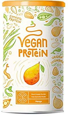 Blitzangebot Alpha Foods Proteinpulver Mango Vegan, 600 Gramm Pulver Amazon Prime