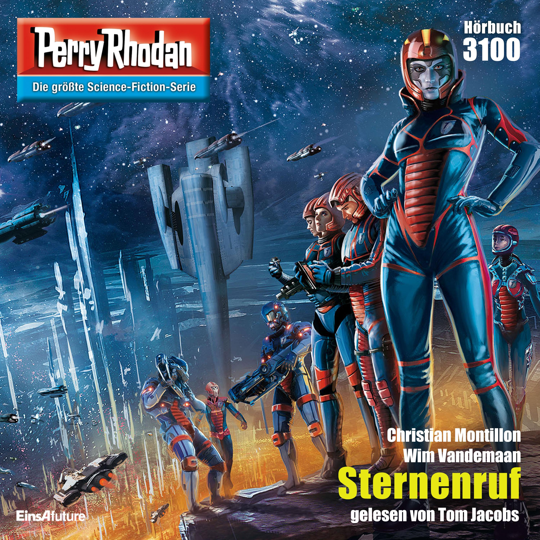"Perry Rhodan Nummer 3100 ""Sternenruf"" - über 3,5 Stunden Hörbuch gratis - [audible] oder beim Verlag als mp3, DRM-frei"