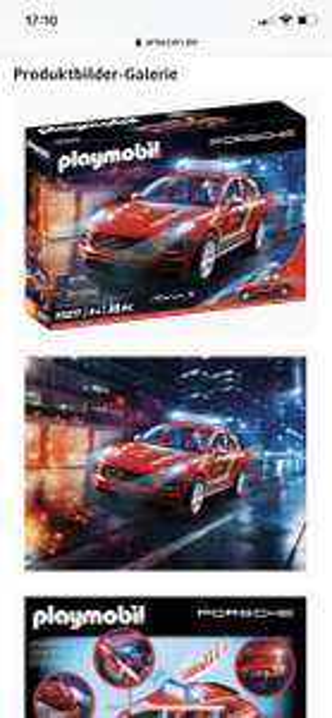 Amazon Prime - Playmobil Porsche 70277 Porsche Macan S Feuerwehr