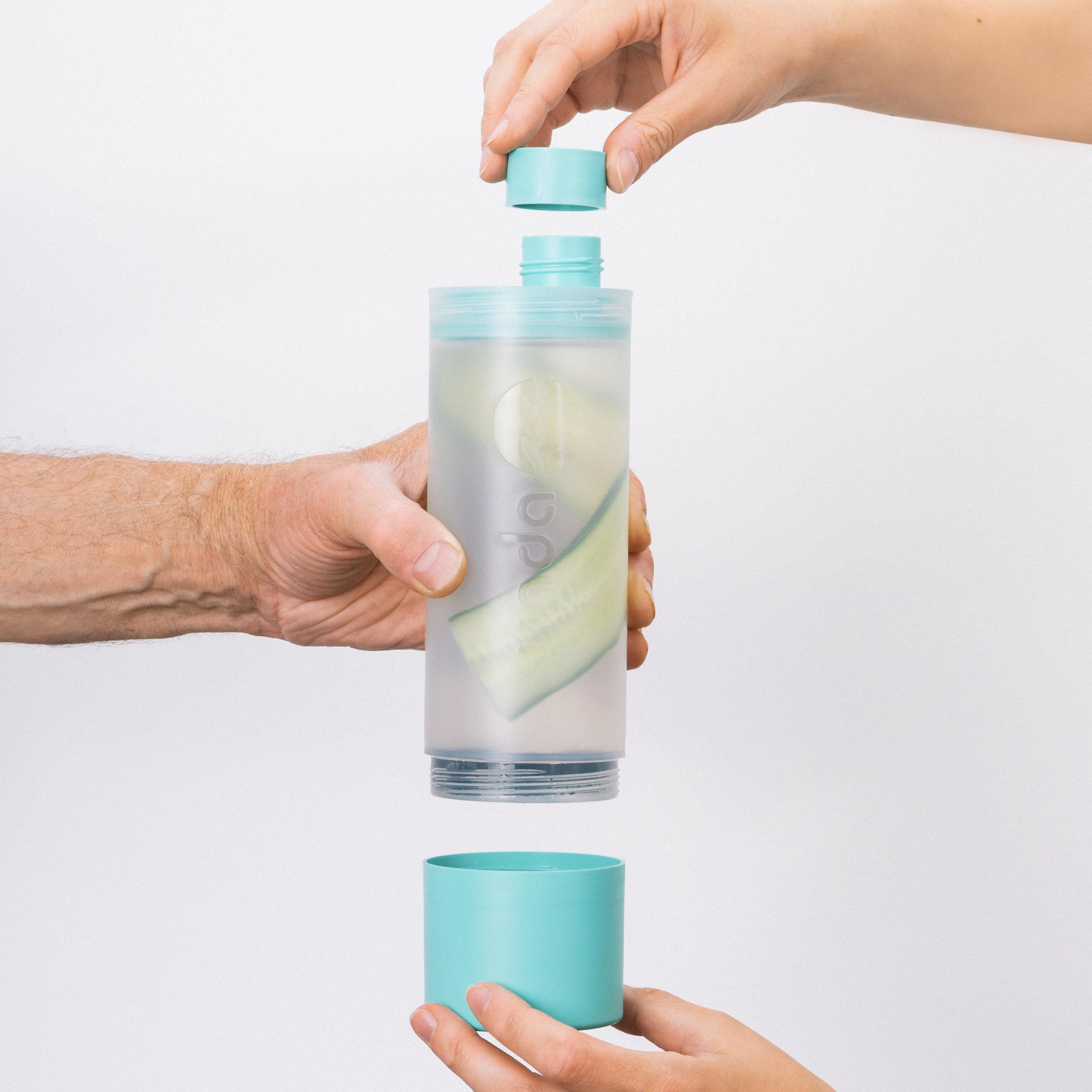 Nachhaltige 3-in-1 Lifestyle-Flasche 550ml von Unda bottle (minus 45%)