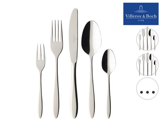 Villeroy & Boch 30-teiliges Besteck-Set (Edelstahl 18/10, 6 verschiedene Modelle verfügbar) [iBOOD]