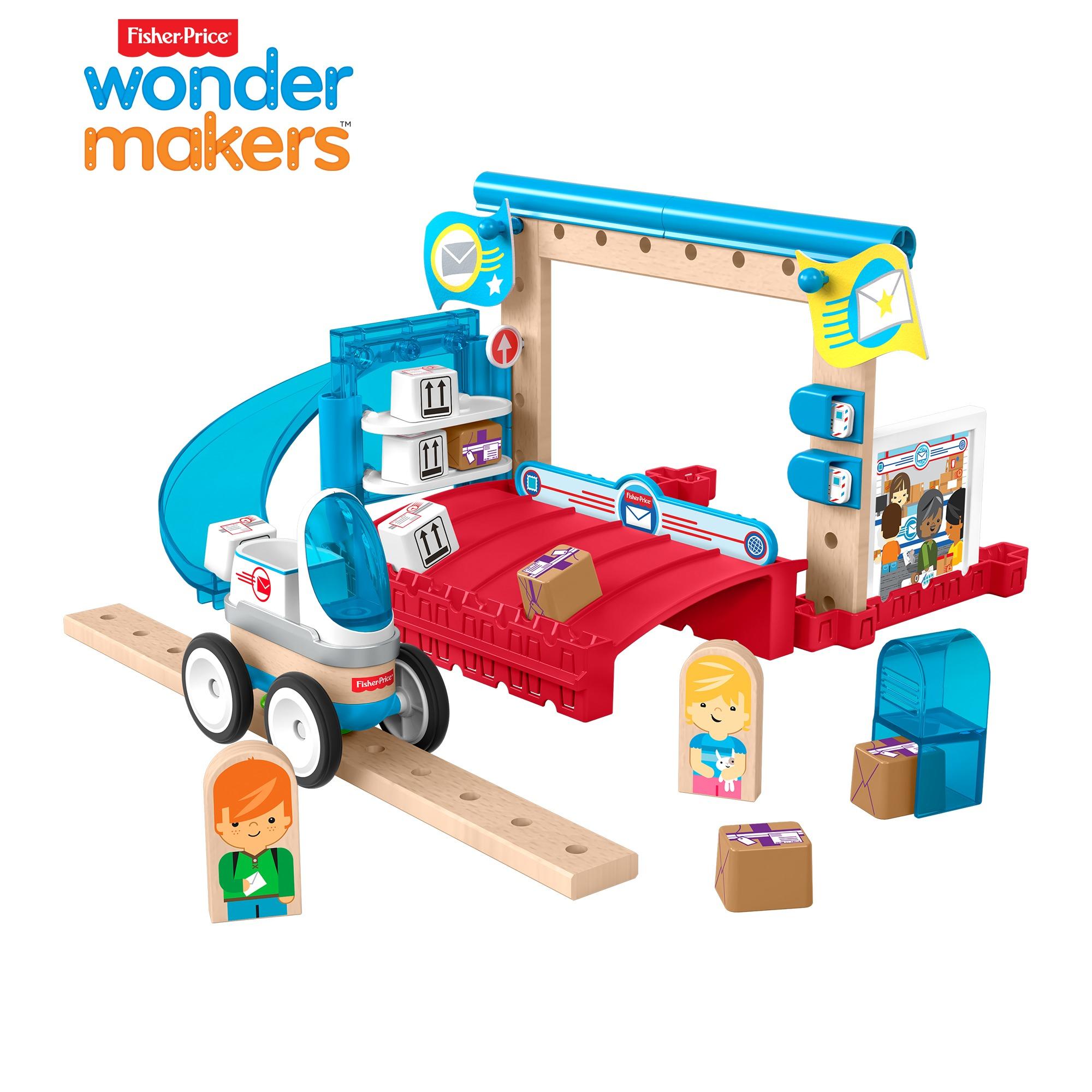 Fisher-Price Wunder Werker Post Spielzeug für 7,56€ @real.de