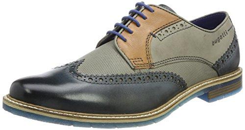 Bugatti Herren 312259041111 Derby Schuhe Gr 40-44&46 (Prime)