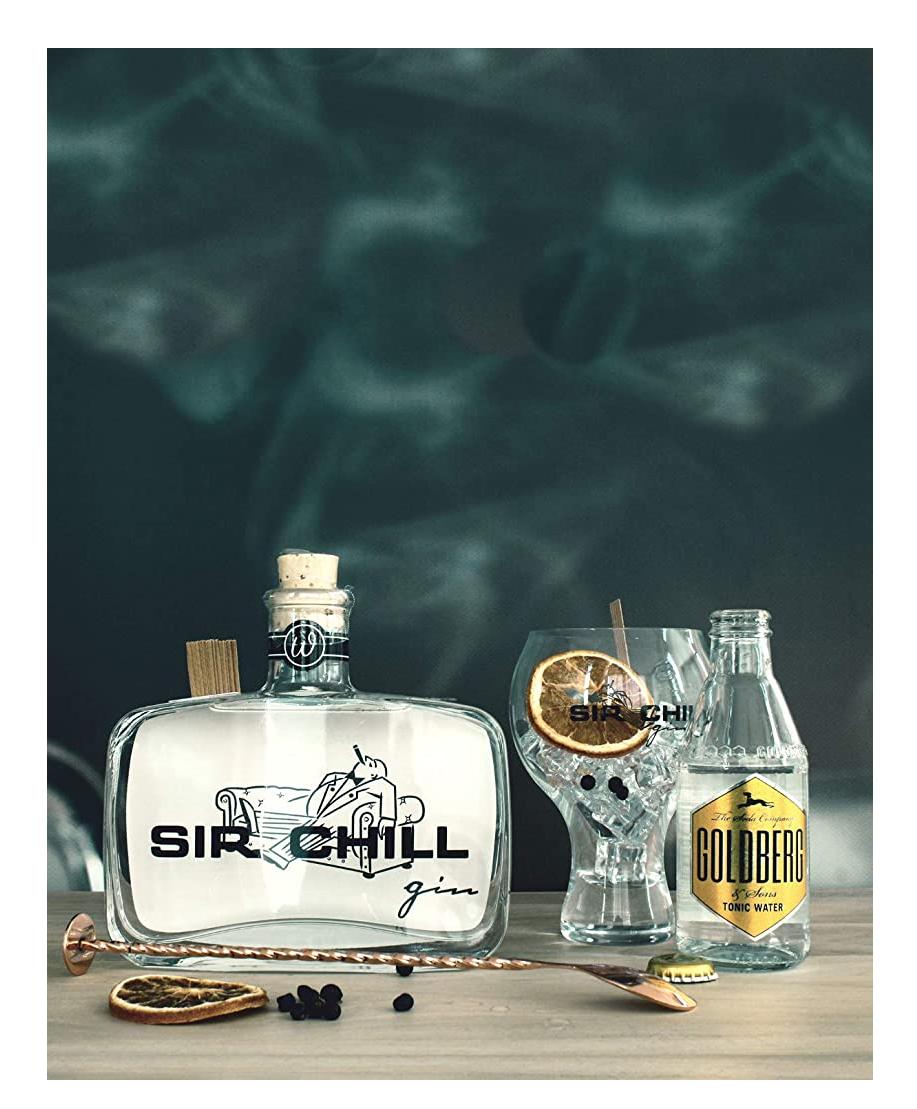 SIR CHILL - Belgischer Premium Dry Gin (1 x 0,5 l) Prime Blitzangebot