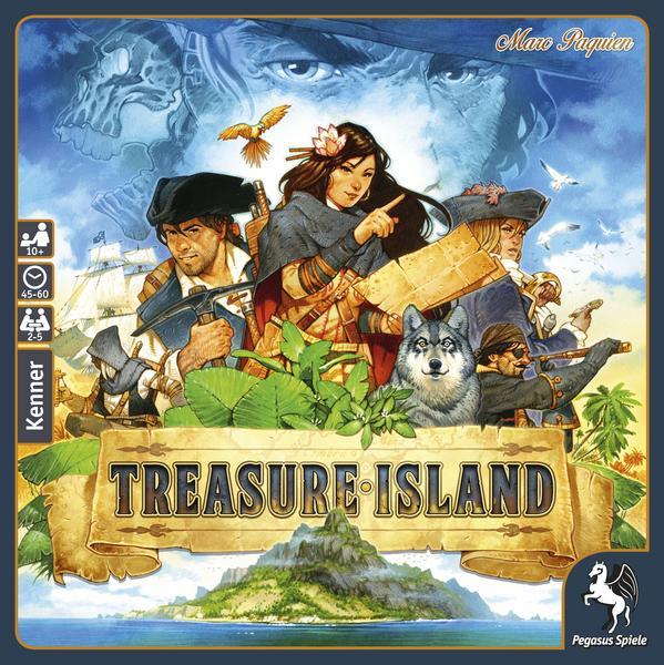 [Thalia] Treasure Island (Brettspiel, Gesellschaftsspiel, mit Newslettergutschein)