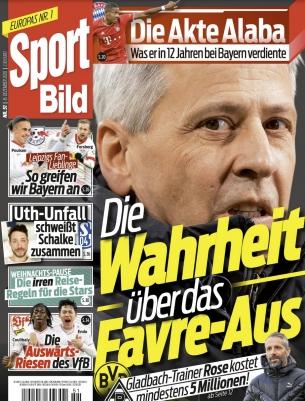Sport Bild Abo (25 Ausgaben) für 70 € mit einem 70 € Amazon-Gutschein