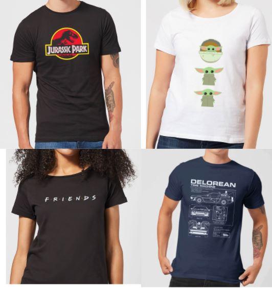 [Zavvi] 2 Nerd-Shirts für 20€ + gratis Versand (Auswahl aus 86 Shirts)